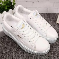 PUMA Women Casual Running Sport Shoes Sneakers White-1