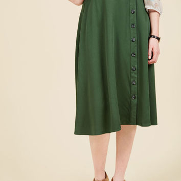 Styled Reliability Midi Skirt