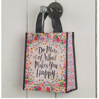 Natural Life Recycled Bag - Do More Happy