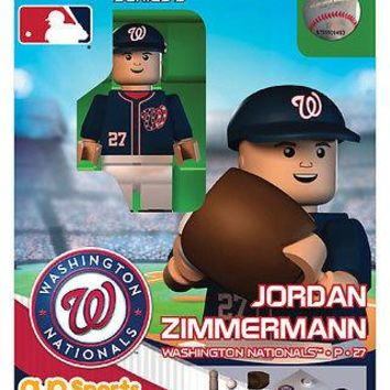 JORDAN ZIMMERMANN WASHINGTON NATIONALS GENERATION 4 OYO MINIFIGURE BRAND NEW