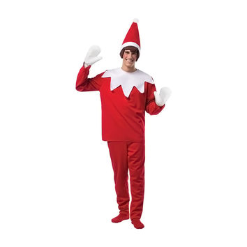 Morris Costumes Halloween Party Fashion Holiday Apparel Classic Christmas Elf On A Shelf Adult Outfit