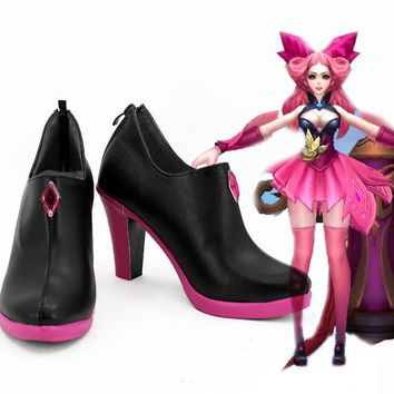 King of Glory cosplay shoes boots for women men for halloween carnival
