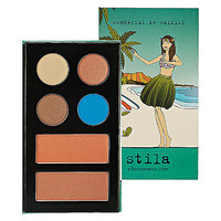 Sephora: Stila : Wonderful in Waikiki - Collectible Beach Palette No. 4   : combination-sets-palettes-value-sets-makeup