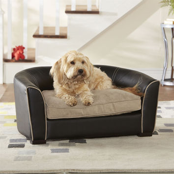 Ultra Comfort Dog Bed Sofa with Washable Cushion