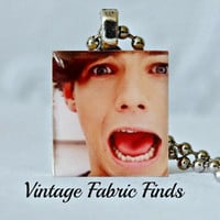 One Direction Scrabble Tile Pendant - Louis Tomlinson - One Direction