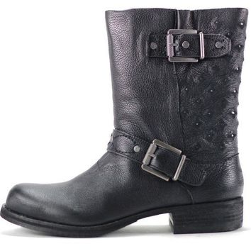 ONETOW Sam Edelman for Women: Bevin Black Leather Boots
