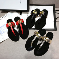 Gucci Women's Leather Fashion Sandals
