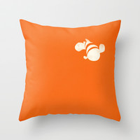 Finding Nemo Throw Pillow by PANDREAA