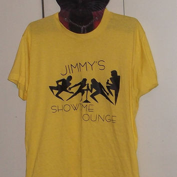 Vintage Screen Stars 50/50 t-shirt Jimmy's Showtime Lounge XL