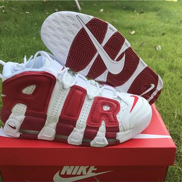 Nike Air More Uptempo Varsity Red 414962-100 US7-12
