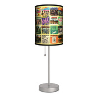 Beatles Single Covers Lamp