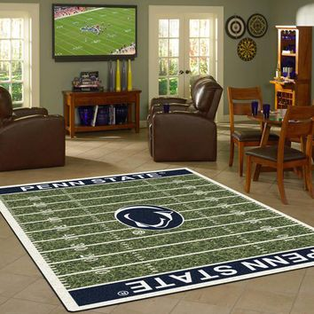 Penn State University Football Field Rug