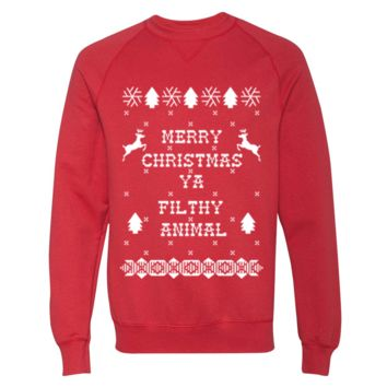 Merry Christmas Ya Filthy Animal 2 Sweater