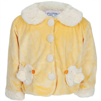 Chick Body Fuzzy Infant Jacket