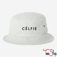 Celfie bucket hat