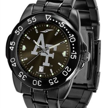 Air Force Falcons Mens Fantom Watch Gunmetal Black Dial Anochrome