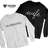 Husband Wife, Anniversary Gift, Gift for couple, Anniversary couples gift, Gift idea for couples, Husband Wife Sweatshirts, Anniversary Gift