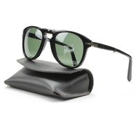Persol PO0714 95/31 52mm Black Sunglasses with Grey Lenses