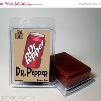 Dr Pepper scented Soap - Geeky Gifts and Nerdy Soaps for men and women  - Food Scented Soaps