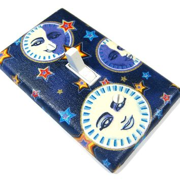 Celestial Moon Goddess Light Switch Cover Purple Home Decor Christmasinjuly LAST ONE 724