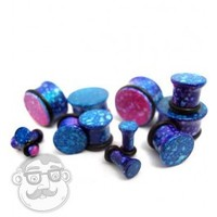 "Cotton Candy Plugs (6 Gauge - 3/4"") 