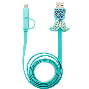 Mermaid Tail USB Cable