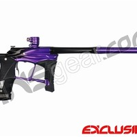Planet Eclipse Ego LV1 Paintball Gun - Electric Purple/Black Polished Fade