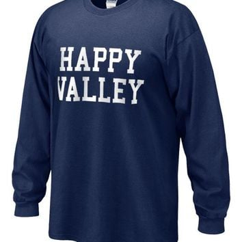Happy Valley Long Sleeve T-shirt | Tshirts > ADULT > LONG SLEEVE