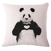 Animal Panda High Quality Home Sofa Bed Seat Back Cushion