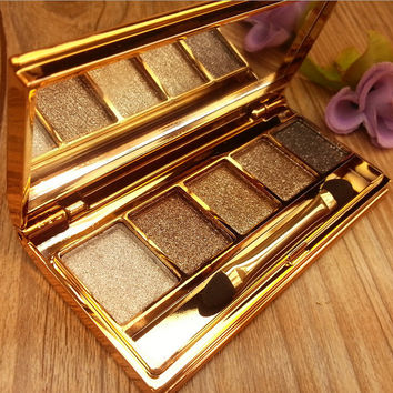 Bling Bling Professional Stylish 5 Colors Eye Shadow with Brush