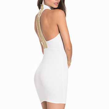 Back Trim Dress, NLY One
