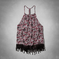 Swingy High Neck Cami