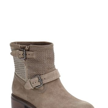 COACH 'Gates' Studded Moto Boot (Women) | Nordstrom