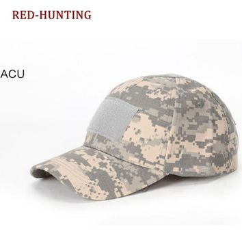 ACU Multicam Operator Hat Special Force Camo Mesh Cap Airsoft Hat for Men Tactical Contractor Army Hunting Camping caps Hat