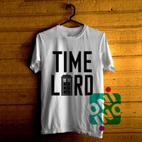 Doctor Who Tardis, Doctor Who Time Lord Tshirt For Men / Women Shirt Color Tees