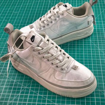 Nike Air Force 1 Low 90/10 All Star 2018 Silver Shoes Sale