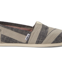 Navy Stripes Women's Classics Natural