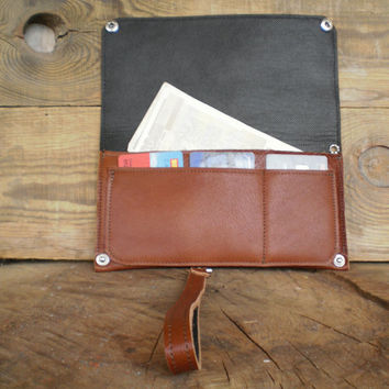 Mans wallet, Carry-all wallet, Detachable strap, Personalized, Groomsmen, Card holder, Purse, Wristlet, Phone case, Hipster wallet, Snap