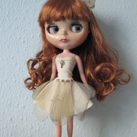 Butterfly Dress and Hair Band - For Your Lovely Blythe