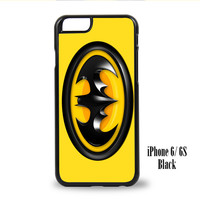 Batman Logo for iPhone 6, iPhone 6s, iPhone 6 Plus, iPhone 6s Plus Cases