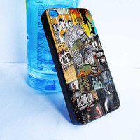custom all time low collage for iphone 4,4s,5,5s,5c cover, samsung galaxy 3,4,5 cover and ipod touch 4,5 cover