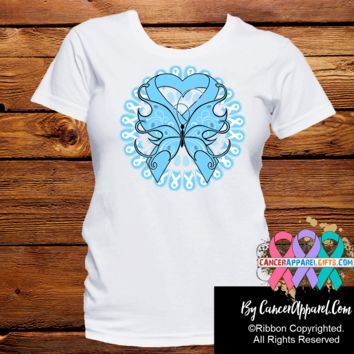 Prostate Cancer Stunning Butterfly Shirts