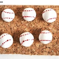 Baseball Office Large Push pins Thumbtacks Bulletin Cork Board Home