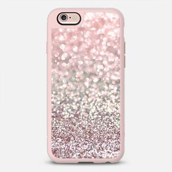 Girly Pink Snowfall iPhone 6s case by Lisa Argyropoulos | Casetify