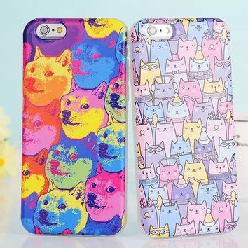Iphone 6/6s Hot Deal On Sale Cute Stylish Hot Sale Korean Apple Soft Couple Phone Case [4915518212]