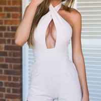 Envy Playsuit (nude)