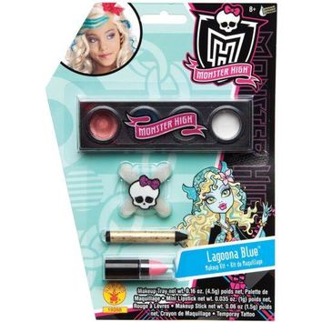 Lagoona Blue Makeup Kit Costume Accessory Kids Girls Monster High Make-Up Set