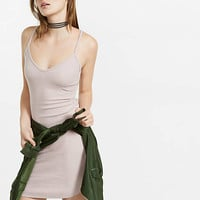 Ribbed Cami Slip Dress from EXPRESS