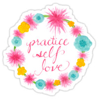 Practice Self Love by Tori Silverman