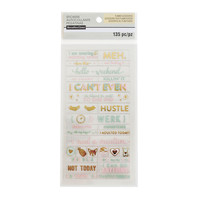 Uptown Chic Small Phrase Stickers By Recollections™